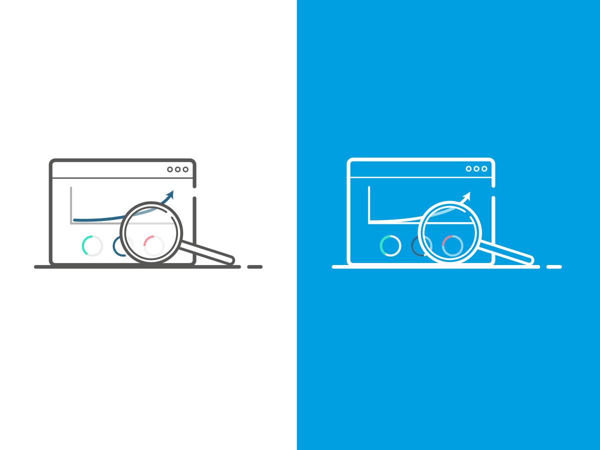 Seo Software Illustration animation icon web ux flat product web design seo services seo software seo outline vector illustrator illustration design ui creative