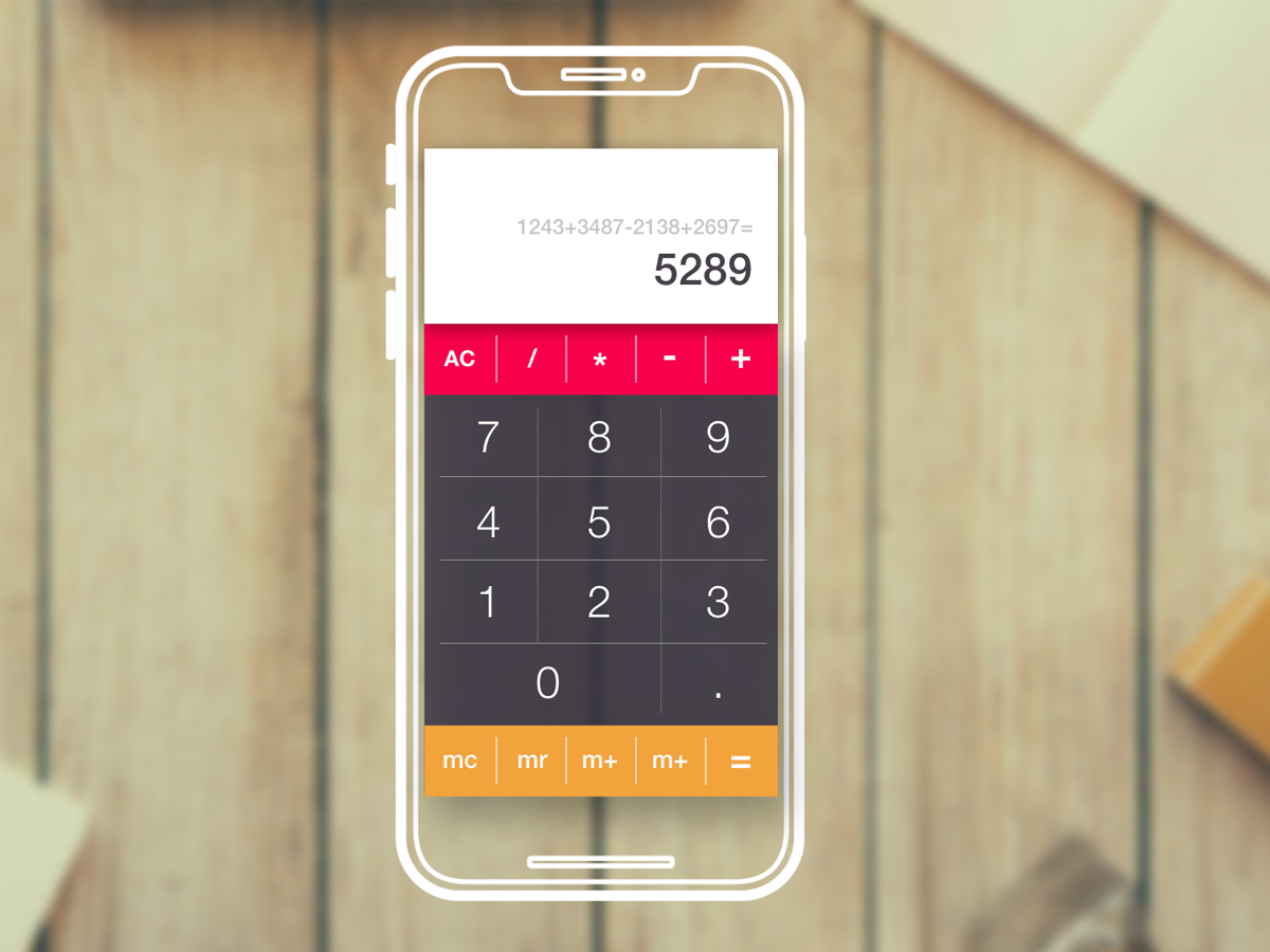 Calculator App - UI concept interface app design app ux design uxdesign ui design uidesign ui  ux ui android app apple calculator app calculator ui calculator