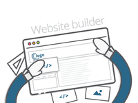 Website Builder SVG