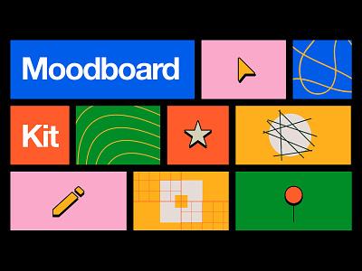🔲 Moodboard Kit resource moodboard freebie design kit figma