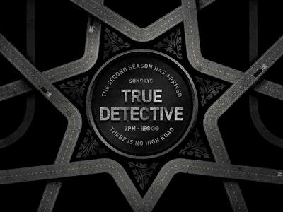 True Detective *Killed Concept sheriff la police illustration pop art true detective