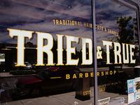 TRIED & TRUE Barbershop Branding