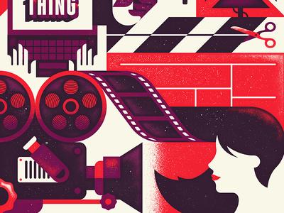 "Full Sail University ""Start Something"" hollywood movie camera animation edit illustration story film"