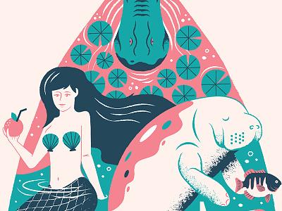 Afterhours Sneak Peek gallery atx afterhours mermaid florida poster