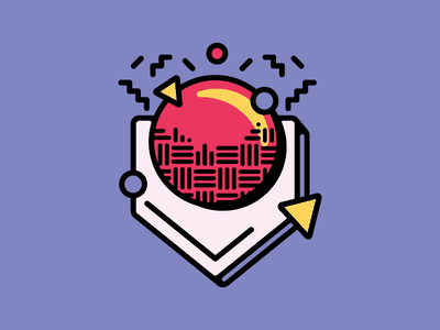 Kickball: Google Sticker Set pattern school icon illustration sports kickball