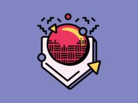 Kickball: Google Sticker Set