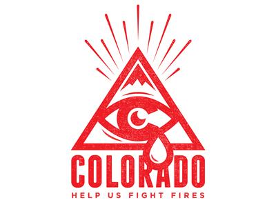 Wild Fire Tees colorado wildfire 2012 shirt charity