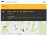 Uber clone.bubbleapps.io app rider iphone 6