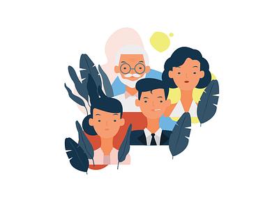 Community woman illustration female male old womans women empowerment women woman community branding app ui vector illustration flat design adobe illustrator adobe