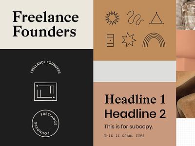 Freelance Founders logo brand identity