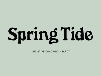 Spring Tide ✨