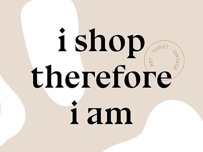 Artwork for vintage, thrift, and art bazaar in Rhode Island 💅🏻 typography