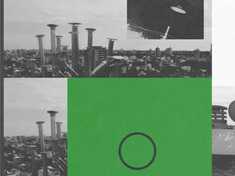 UFO editorial fanzine artist editorial design design experimental