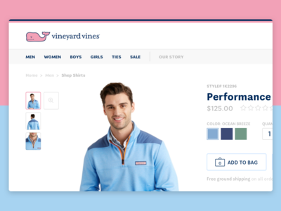 Vineyard Vines Product Page