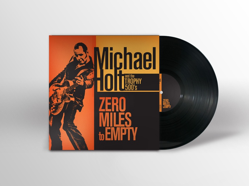 Michael Holt and the Trophy 500's poster design poster art album cover design cd cover graphic design art direction cover design cover art packaging design package design