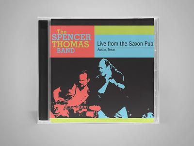 Spencer CD cover cd artwork album artwork graphic design album cover cd cover packaging design
