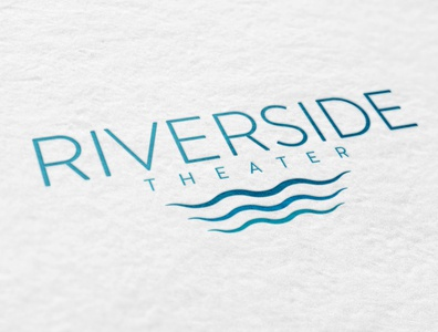 Riverside Theater logo concepts
