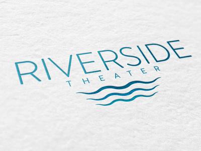 Riverside Theater logo concepts brand design graphic design logo design logo