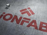 IonFab logo and brand identity graphic design brand identity art direction logo design branding logo