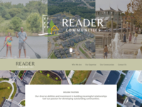 Residential Community Developer Website
