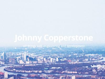 Blog johnnycopperstone blog ghost web development