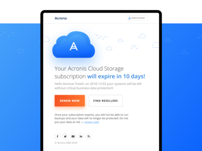 Acronis Email