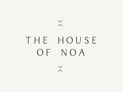 The House of Noa – Honor Creative logo design identity branding