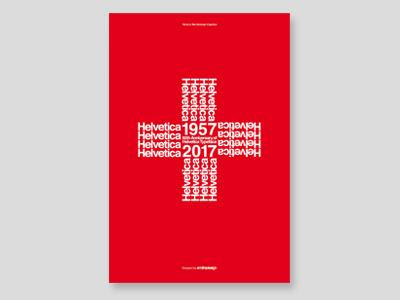 Helvetica Turned 60 1957-2017 1957 anniversary hommage tribute eduard hoffman max miedinger typeface helvetica