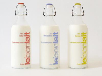 LEBONLAIT package lebonlait graphic design packaging design lait milk