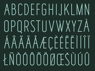 'Fisher's Lair' Typeface Preview graphic design font design glyphs typeface