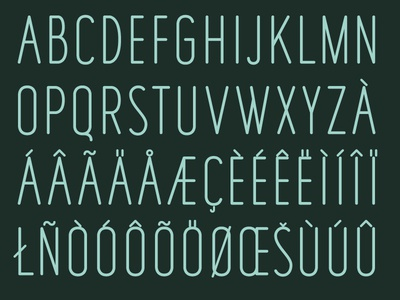 'Fisher's Lair' Typeface Preview