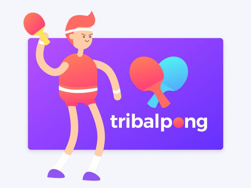 TribalPong - Mobile Ping Pong App