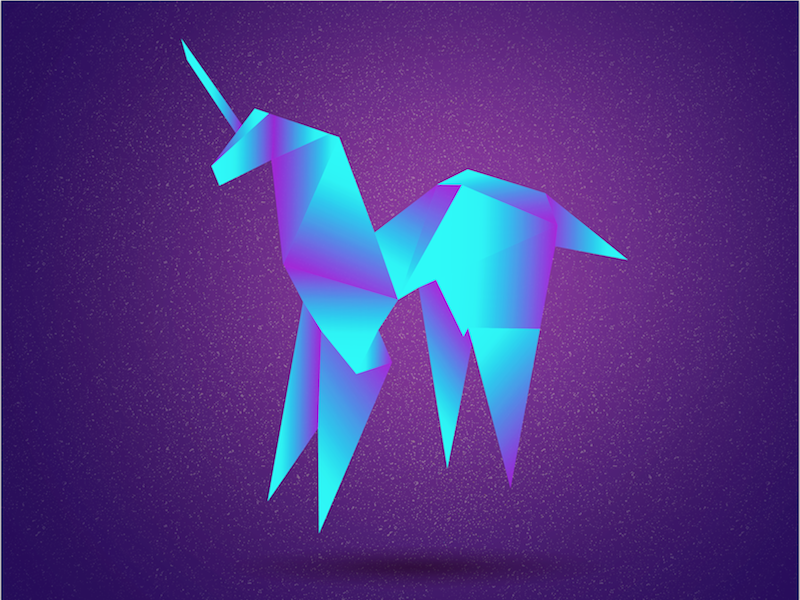 Blade Runner blade runner blade runner origami unicorn illustrator 80s neon illustration movie