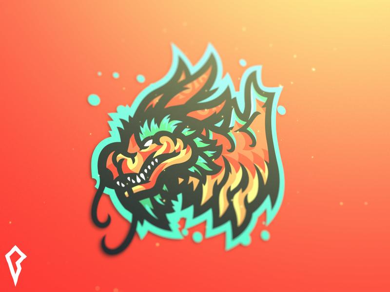 Cloud Serpent - The Second chinese dragon dragon logo logo team logo team dragon mascot esport dragon after effects mascot mascot logo