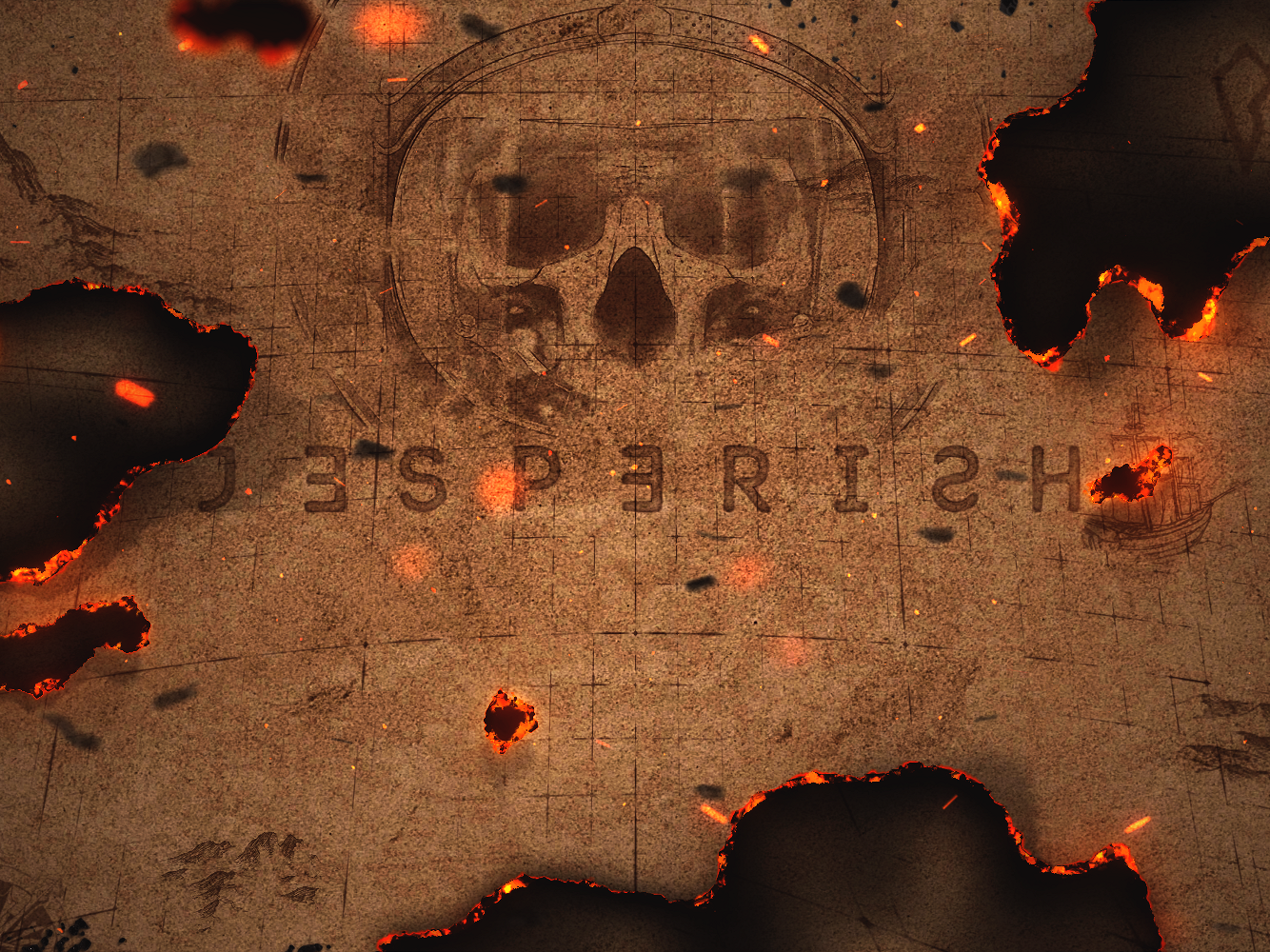 Jesperish Header / Contest pirates burning paper paper after effects header contest jesperish