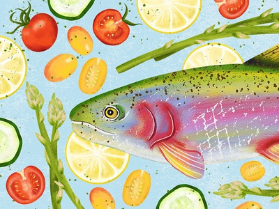 Eat the Rainbow Trout
