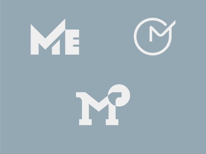 Master English english master freelance graphic m minimalist design logo