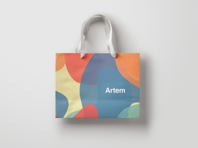 Artem bag street pattern arts colors paths clothing branding gallery