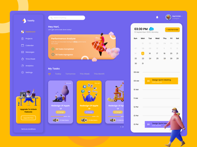 Task Management UI web design task management design uidesign