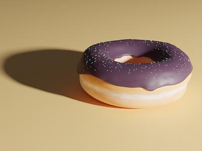 Donut Blender design food illustration illustraion vector art icon food blender 3d
