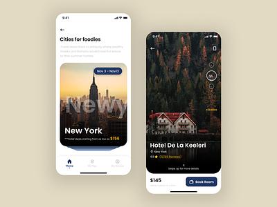 Expedia Redesign- II app design ios app travel app uiuxdesign ui design ui design