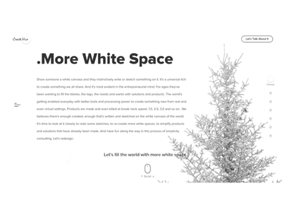 Creative.Hive Design Agency minimalist design landing page website design agency