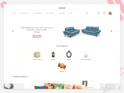 E Commerce e commerce landing page web deisgn uiuxdesign design