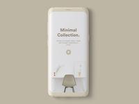 Minimal Decor App Concept
