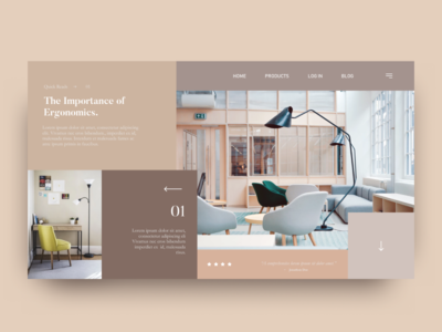 Interior Design Blog Concept