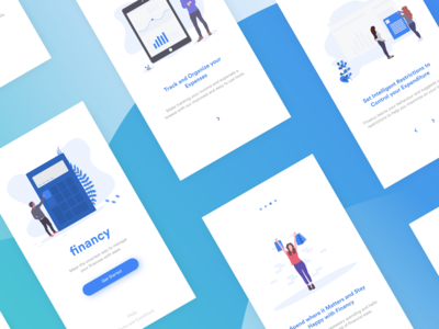 Financy : Finance Manager Concept.