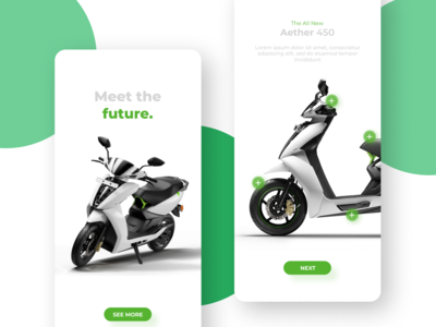 Electric Scooter Product Page C