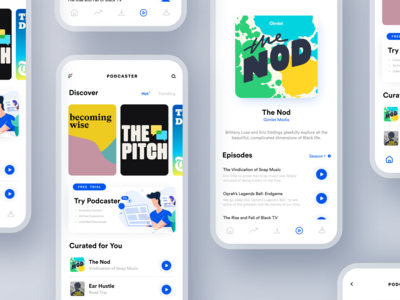 Podcasts App Concept