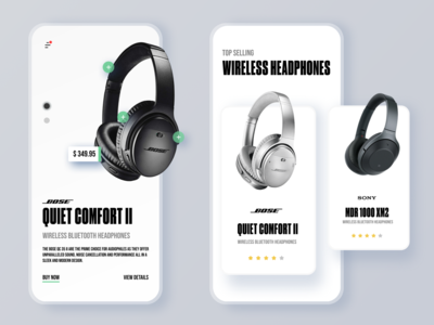 E-Commerce Product Pages