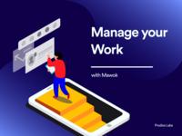 Illustration for Work Management